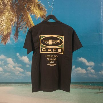 "Skateboard Cafe - ""45"" T-Shirt - Black"