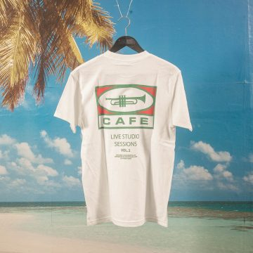 "Skateboard Cafe - ""45"" T-Shirt - White"