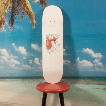 Skateboard Cafe - Doe White Deck - 8.25