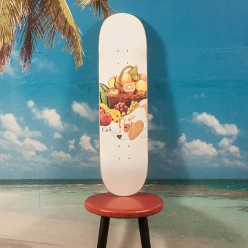 Skateboard Cafe - Healthy White Deck - 8.25