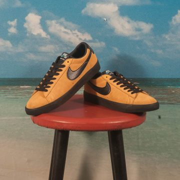 Nike SB - Blazer Low GT - University Gold / Black