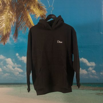 Dime MTL - Classic Small Logo Hoodie - Black