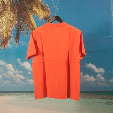 Dime MTL - Classic Small Logo T-Shirt - Burnt Orange
