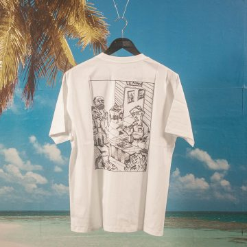 Polar Skate Co. - Bistro T-Shirt - White