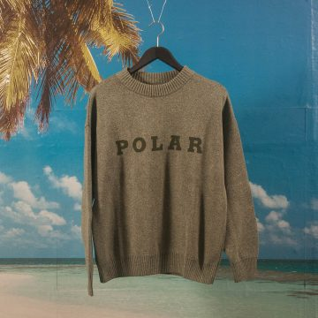 Polar Skate Co. - Polar Knit Sweater - Green