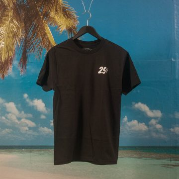 Quartersnacks - Classic Snackman T-Shirt - Black