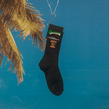 Quartersnacks - Ball Is Life Socks - Black