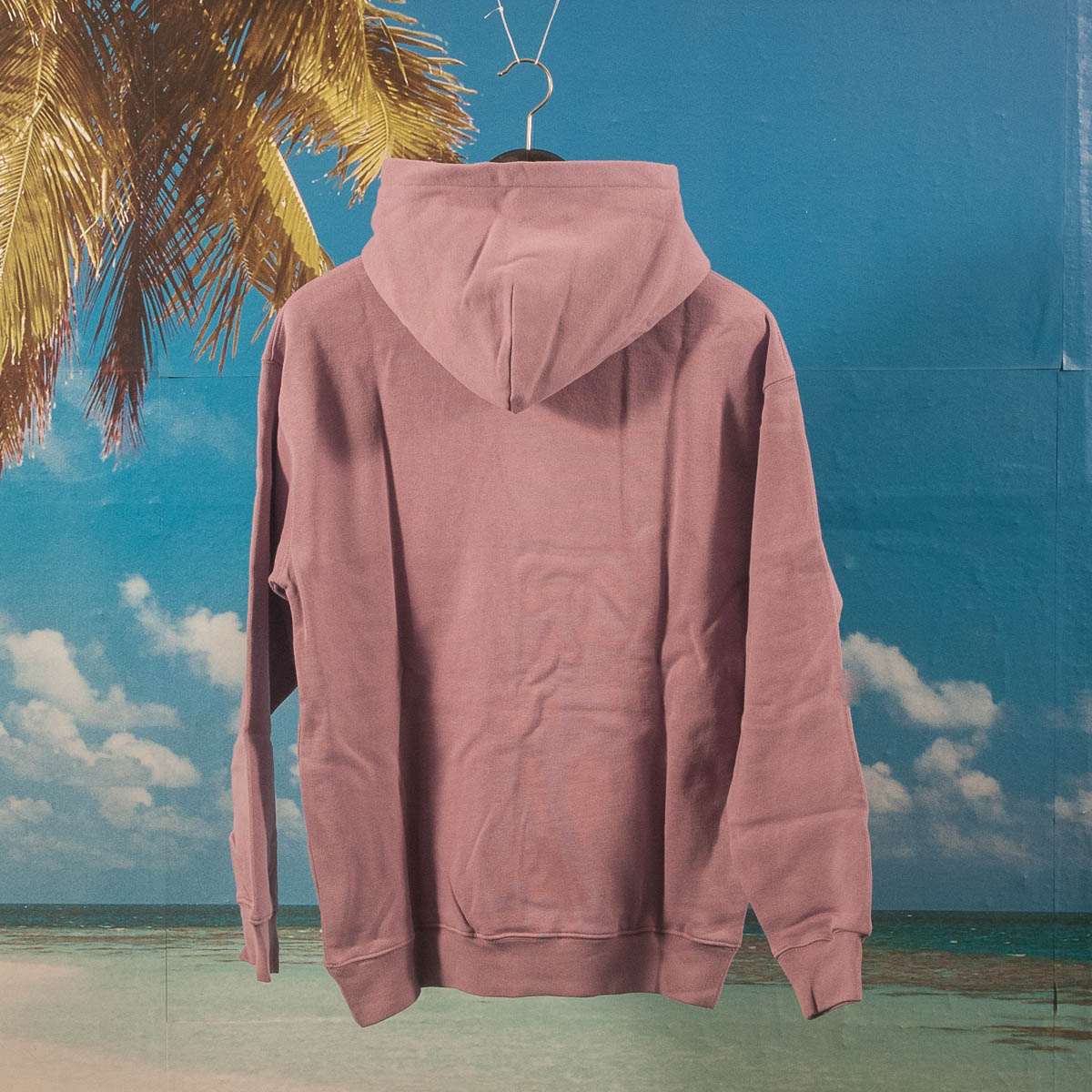 Dime MTL - Classic Small Logo Hoodie - Mauve