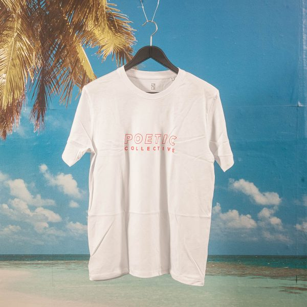 Poetic Collective - Sports T-Shirt - White