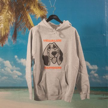 Quasi Skateboards - Happiness Hoodie - Heather Grey