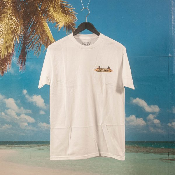 Pass~Port - Trickle Down T-Shirt - White