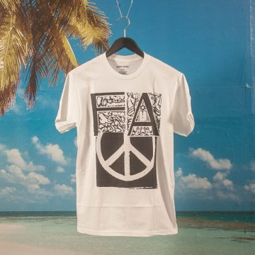 Fucking Awesome - Peace T-Shirt - White