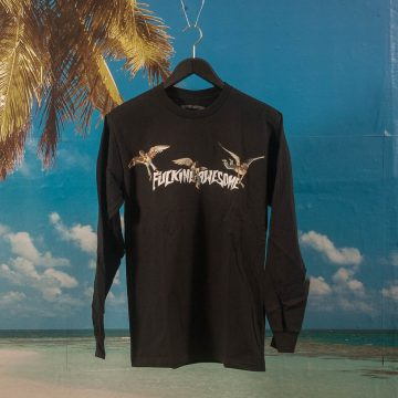 Fucking Awesome - Angel Stamp L/S T-Shirt - Black