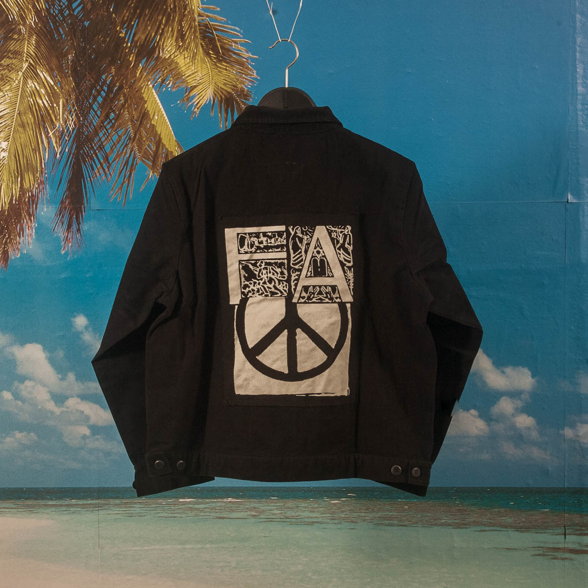 Fucking Awesome - Peace Work Jacket - Black