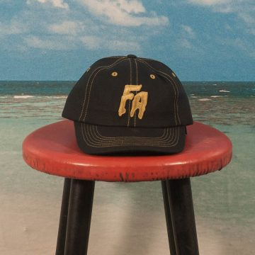 Fucking Awesome - Seduction Of The World Unstructured Strapback Cap - Black / Gold