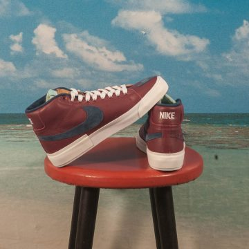Nike SB - Blazer Mid Edge - Team Red / Navy-Light Dew-Summit White