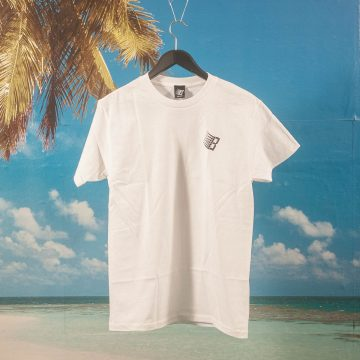Bronze 56k - Smiley B Logo T-Shirt - White