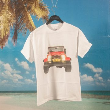 Bronze 56k - Jeep T-Shirt - White