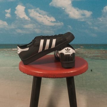adidas Skateboarding - Blondey Superstar - Black / White / Black