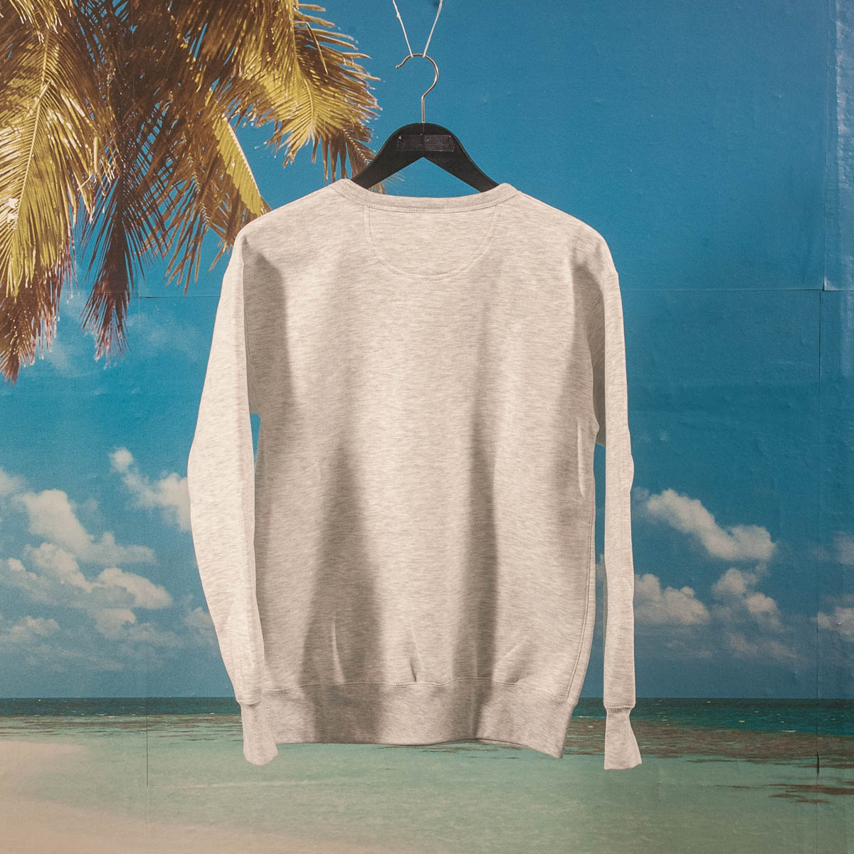 Robinsons Bar - Cherie Crewneck - Heather Grey