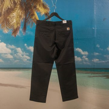 Carhartt WIP - Crafter Pant - Rinsed Black