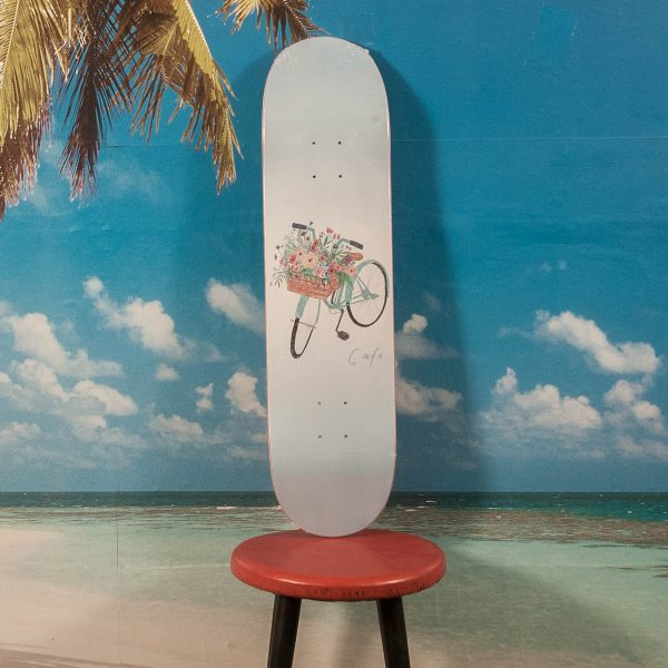 Skateboard Cafe - Flower Basket Blue Deck - 8.0
