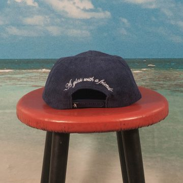 Pass~Port - With A Friend 5 Panel Cap - Navy