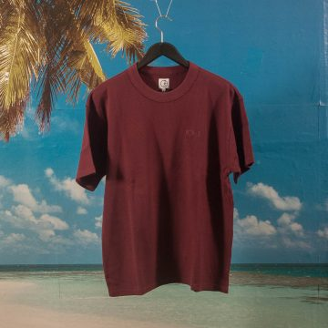 Polar Skate Co. - Shin T-Shirt - Wine