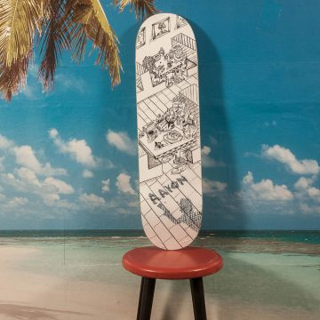 "Polar Skate Co. - Herrington ""Diner"" Deck - 8.375"
