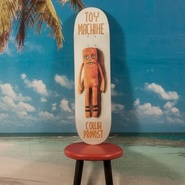 "Toy Machine - Provost ""Doll Series"" Deck - 8.25"