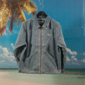 Dime MTL - Denim Chore Jacket - Light Wash