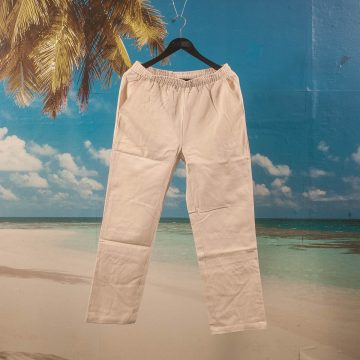 Dime MTL - Classic Twill Pants - Cream