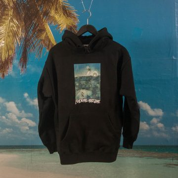 Fucking Awesome - Helicopter Hoodie - Black