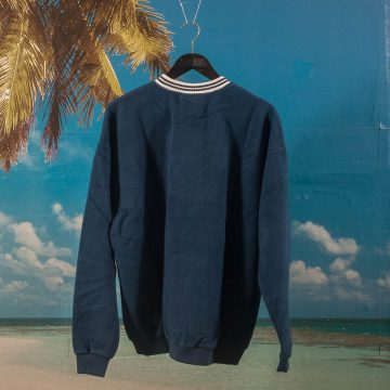 Fucking Awesome - Cursive Crewneck - Navy