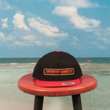 Favorite Skateboards - Sinners Snapback Cap - Black / Red