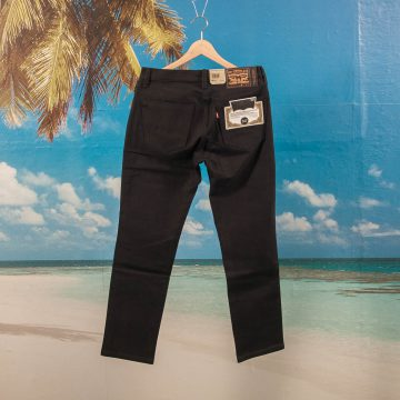 Levis Skateboarding - 511 Slim 5 Pocket S&E - Caviar Bull Denim Black