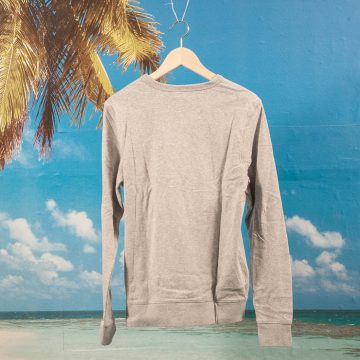 Holiday Life Co. - Casual Crew - Heather Grey
