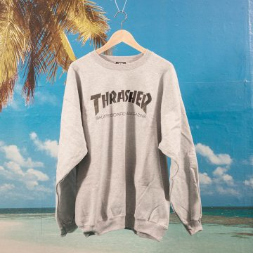 Thrasher - Skate Mag Crewneck - Grey Mottled